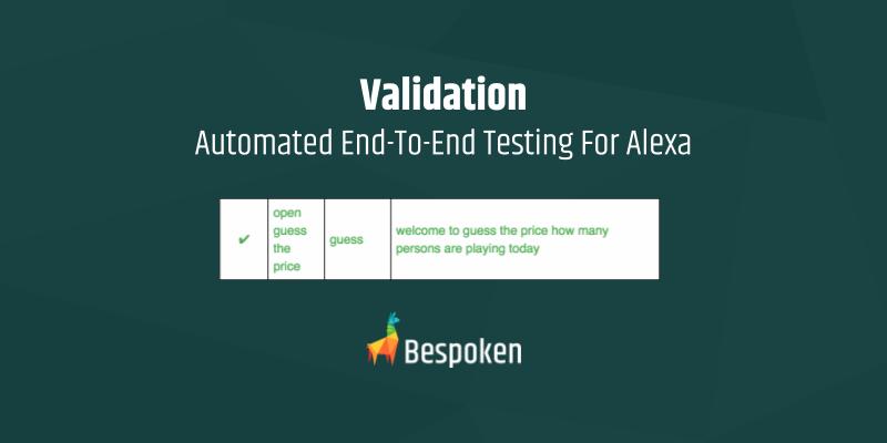 Automated Testing Alexa Skills Blog Image