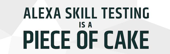 Alexa Skill Testing Infographic blog image