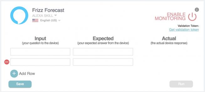 alexa skill monitoring Bespoken Dashboard