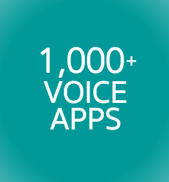 1,000 Bespoken Voice Apps Image