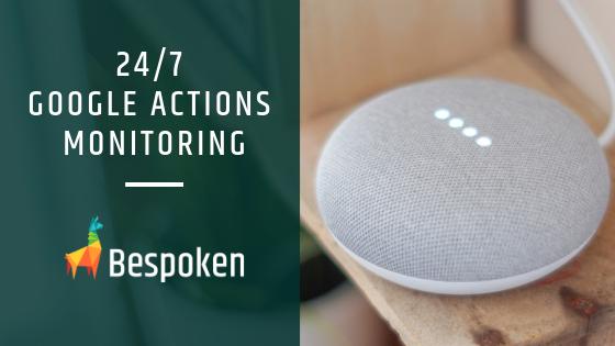 google action monitoring