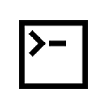 Command Line Interface Icon